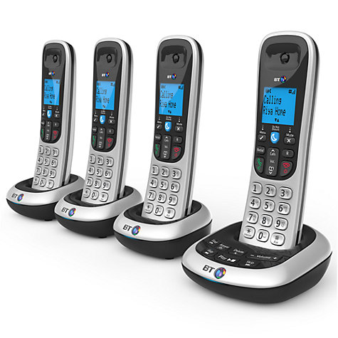 Buy BT 2700 Digital Cordless Phone with Answering Machine, Quad DECT Online at johnlewis.com