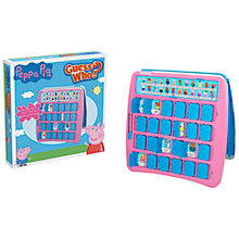 Buy Peppa Pig Guess Who? Game Online at johnlewis.com