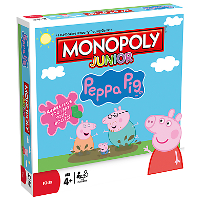 Image of Monopoly Junior Peppa Pig Board Game