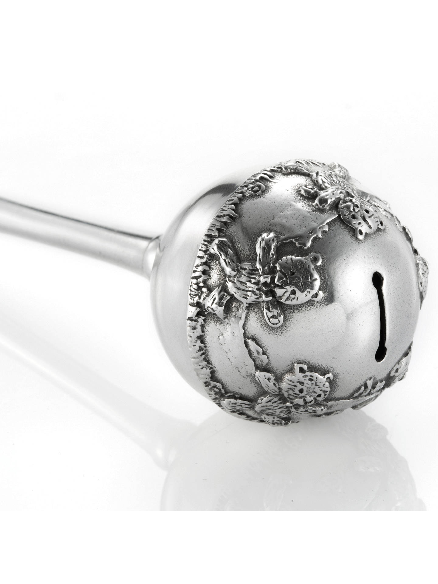Buy Royal Selangor Baby Rattle, Silver Online at johnlewis.com