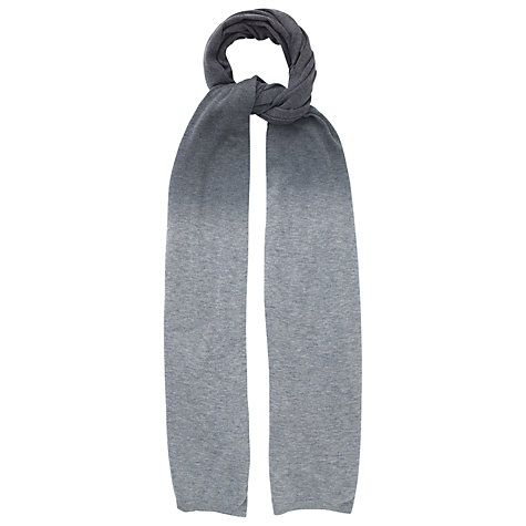 Buy Phase Eight Jilly Ombre Scarf, Ash Online at johnlewis.com