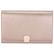 Buy Phase Eight Paloma Shimmer Clutch Bag, Champagne Online at johnlewis.com