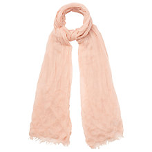 Buy Phase Eight Camille Scarf, Blush Online at johnlewis.com