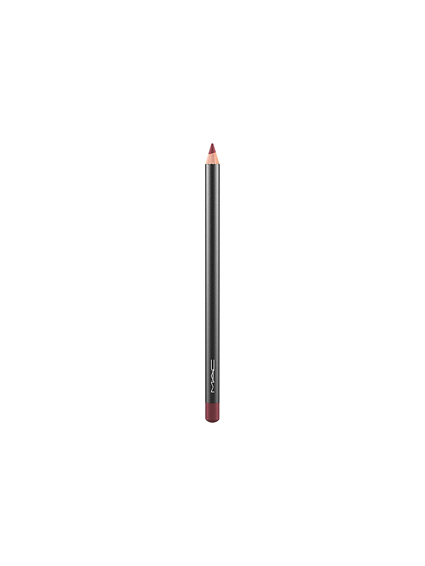 BuyMAC Lip Pencil, Burgundy Online at johnlewis.com