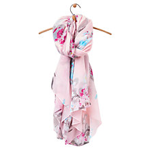 Buy Joules Harmony Rose Blossom Scarf, Blush/Fuchsia Online at johnlewis.com