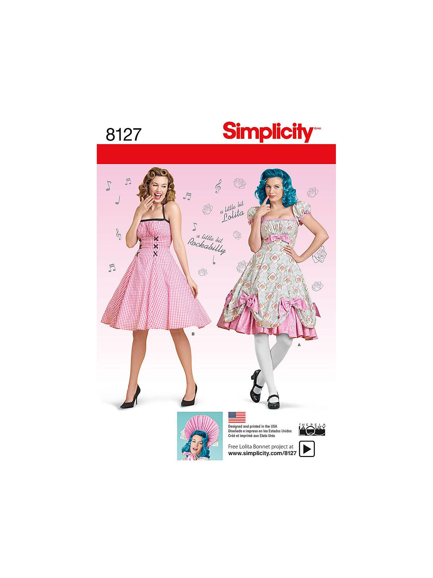 Simplicity Women\'s Plus Size Dress Sewing Pattern, 8127 at John ...