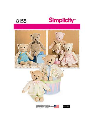 Simplicity Craft Sewing Pattern, 8155