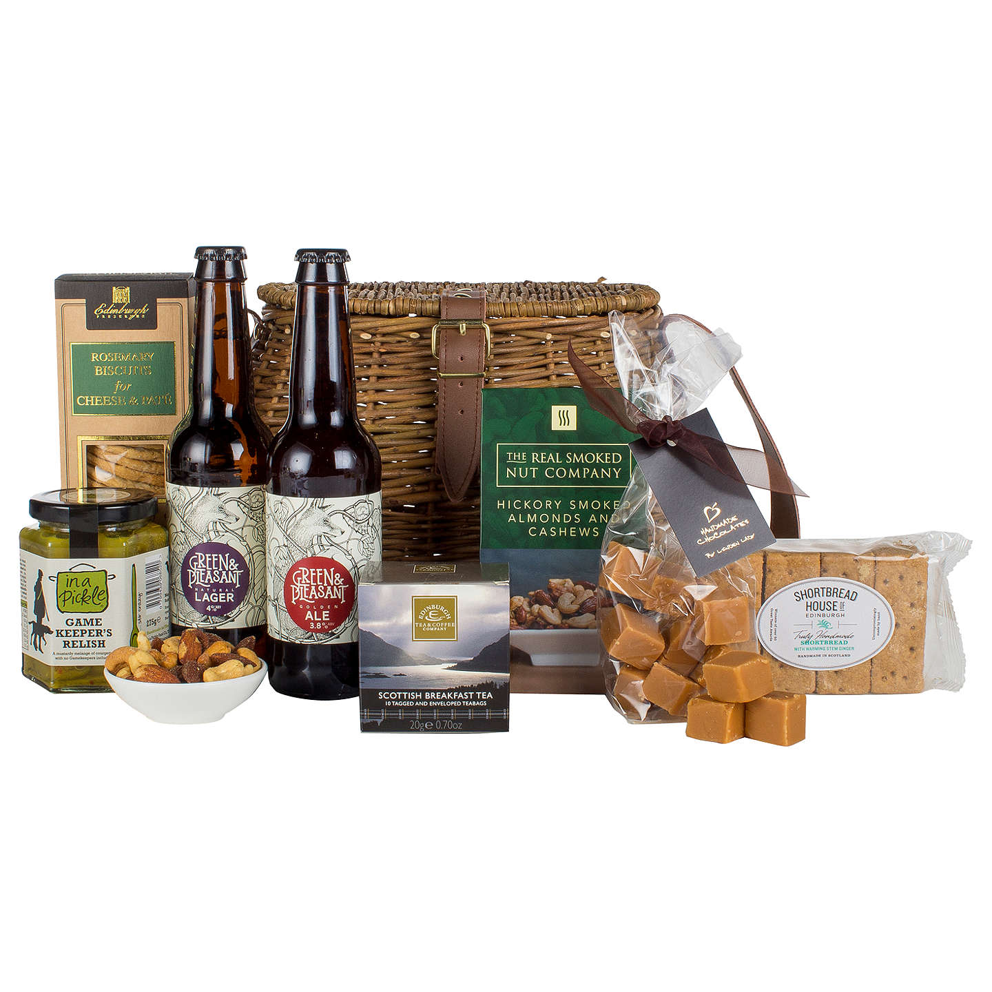 Buyjohn Lewis Poachers Basket Hamper Online At Johnlewiscom