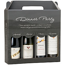 Buy Mini 'Dinner Party' Collection, 375ml, Set of 4 Online at johnlewis.com