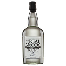 Buy The Real Mccoy Aged 3 Years Silver Rum, 75cl Online at johnlewis.com