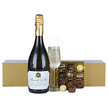 Buy John Lewis Prosecco & Chocolates Hamper Online at johnlewis.com