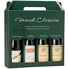 Buy Mini 'French Classics' Collections, 375ml, Set of 4 Online at johnlewis.com