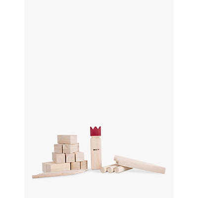 Bex Kubb Original Red King Game
