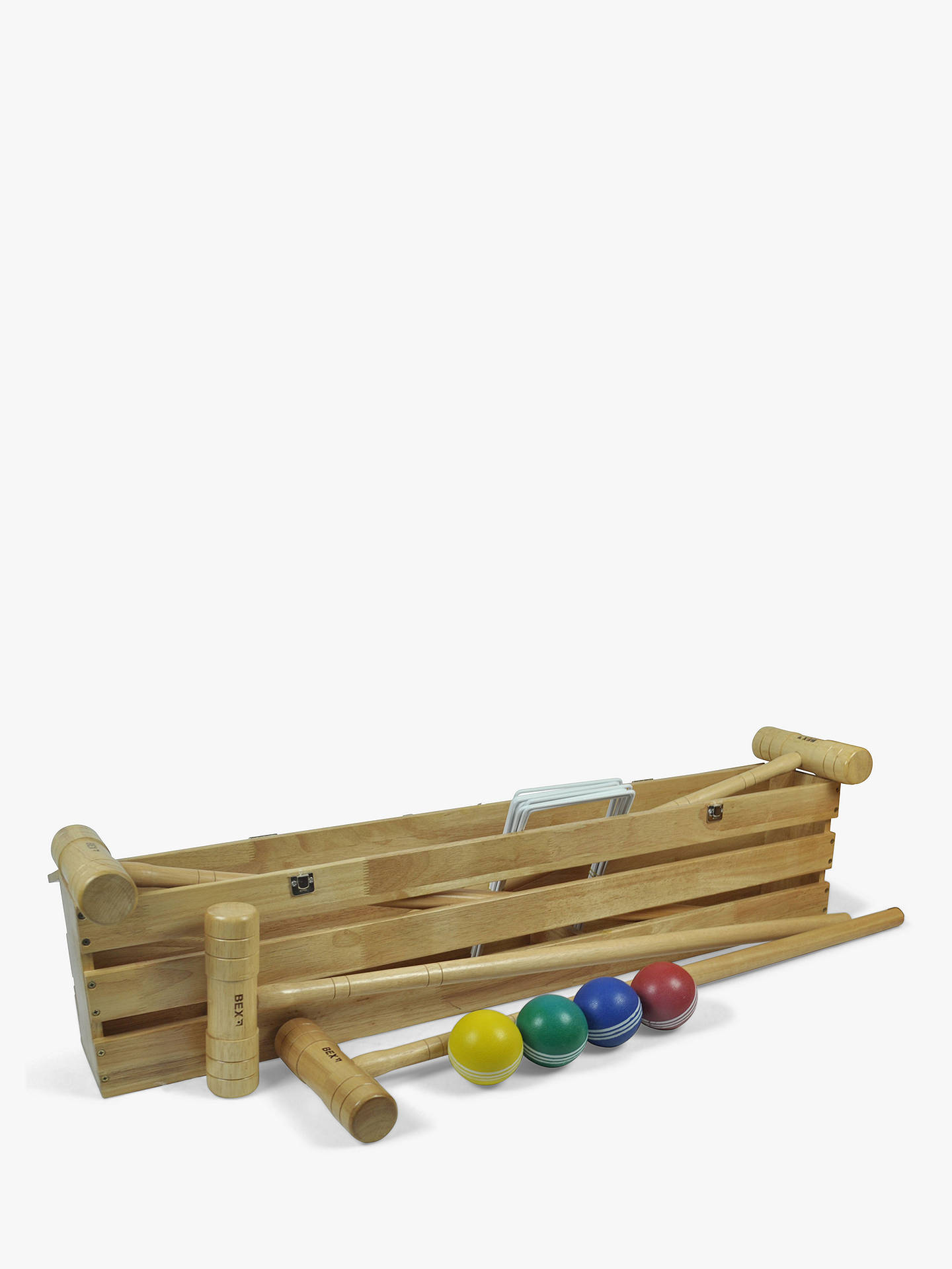 BuyBex Croquet Pro Game in a Wooden Box Online at johnlewis.com