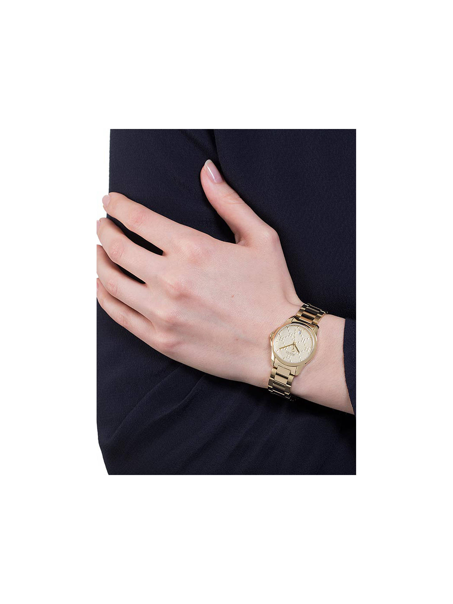 401abaf62c2 ... Buy Gucci YA126553 Women s G-Timeless Date Bracelet Strap Watch
