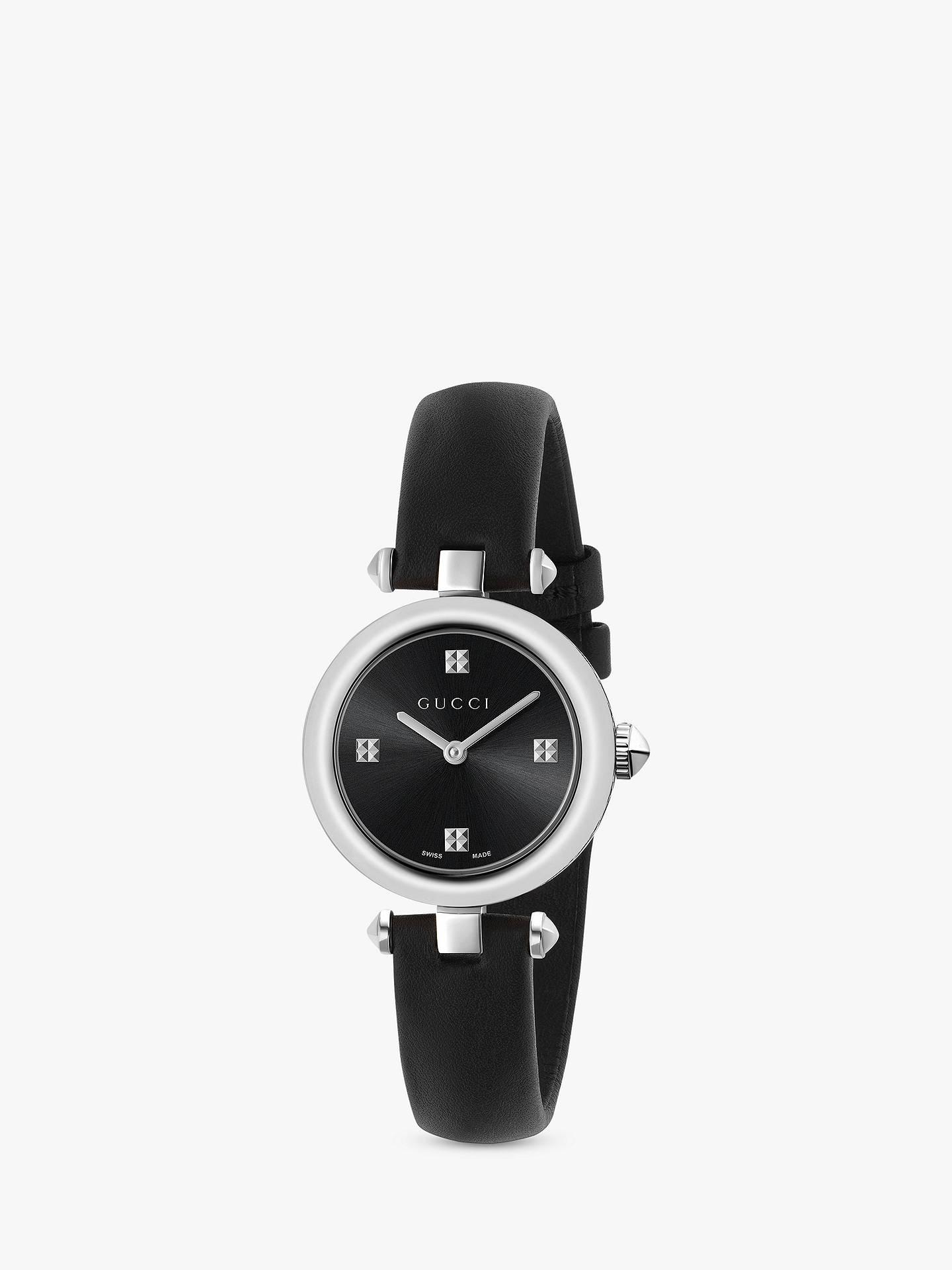 65858924fff Buy Gucci YA141506 Women s Diamantissima Leather Strap Watch