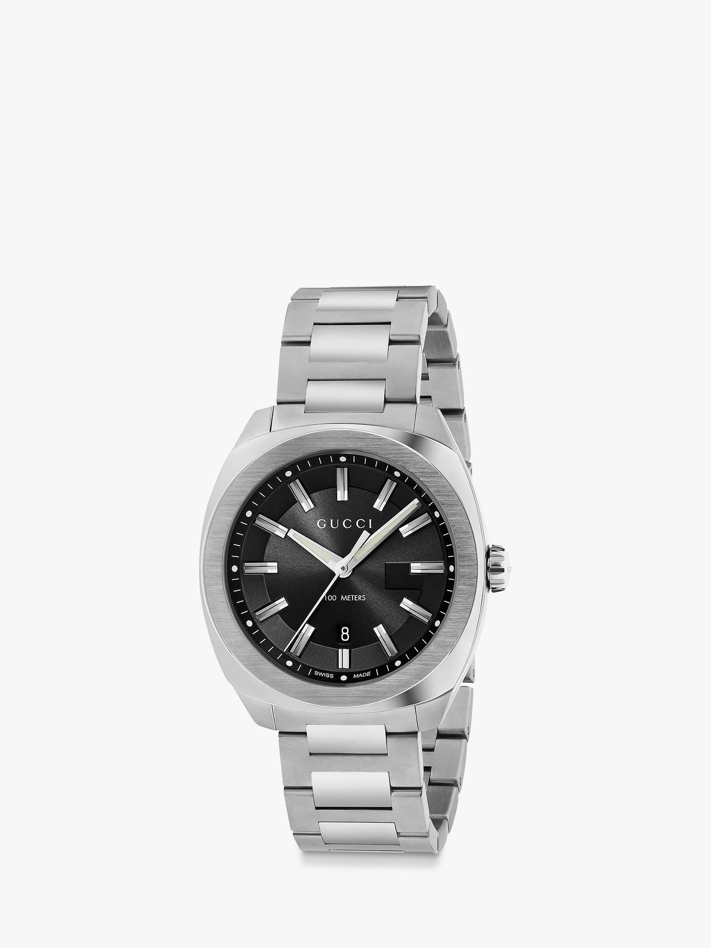 021e868b2e17 Buy Gucci YA142301 Men s GG2570 Date Bracelet Strap Watch