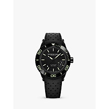 Buy Raymond Weil 2760-SB1-20001 Men's Freelancer Date Automatic Rubber Strap Watch, Black Online at johnlewis.com