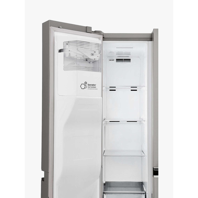 American Fridge Freezer Plumbed: LG GSL761PZXV American Style Fridge Freezer, A+ Energy