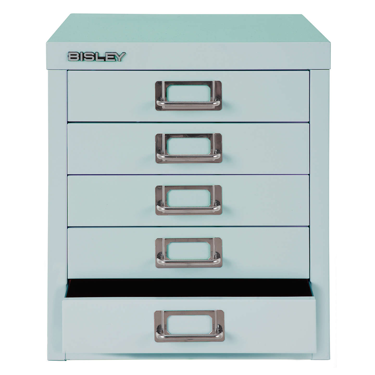 BuyBisley Non-Locking 5 Multidrawer, Duck Egg Online at johnlewis.com