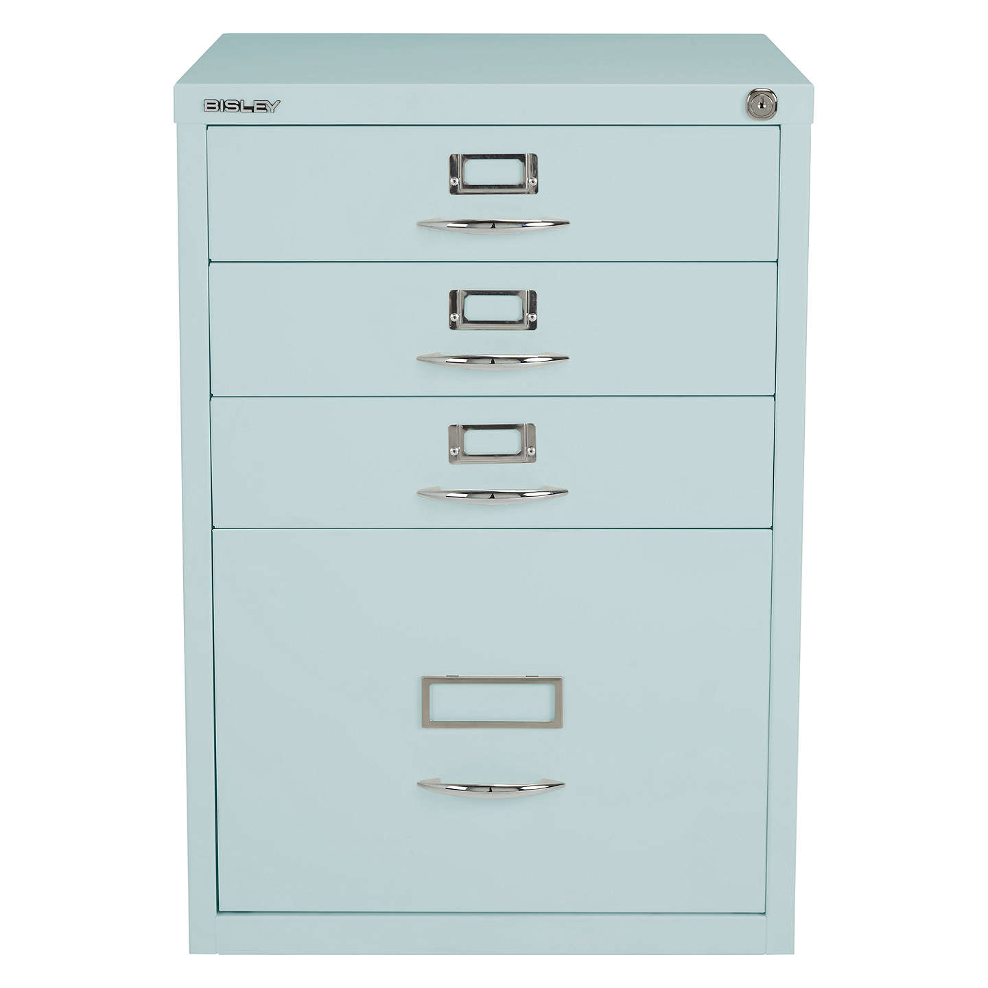 BuyBisley Combi Filing Cabinet, Duck Egg Online at johnlewis.com
