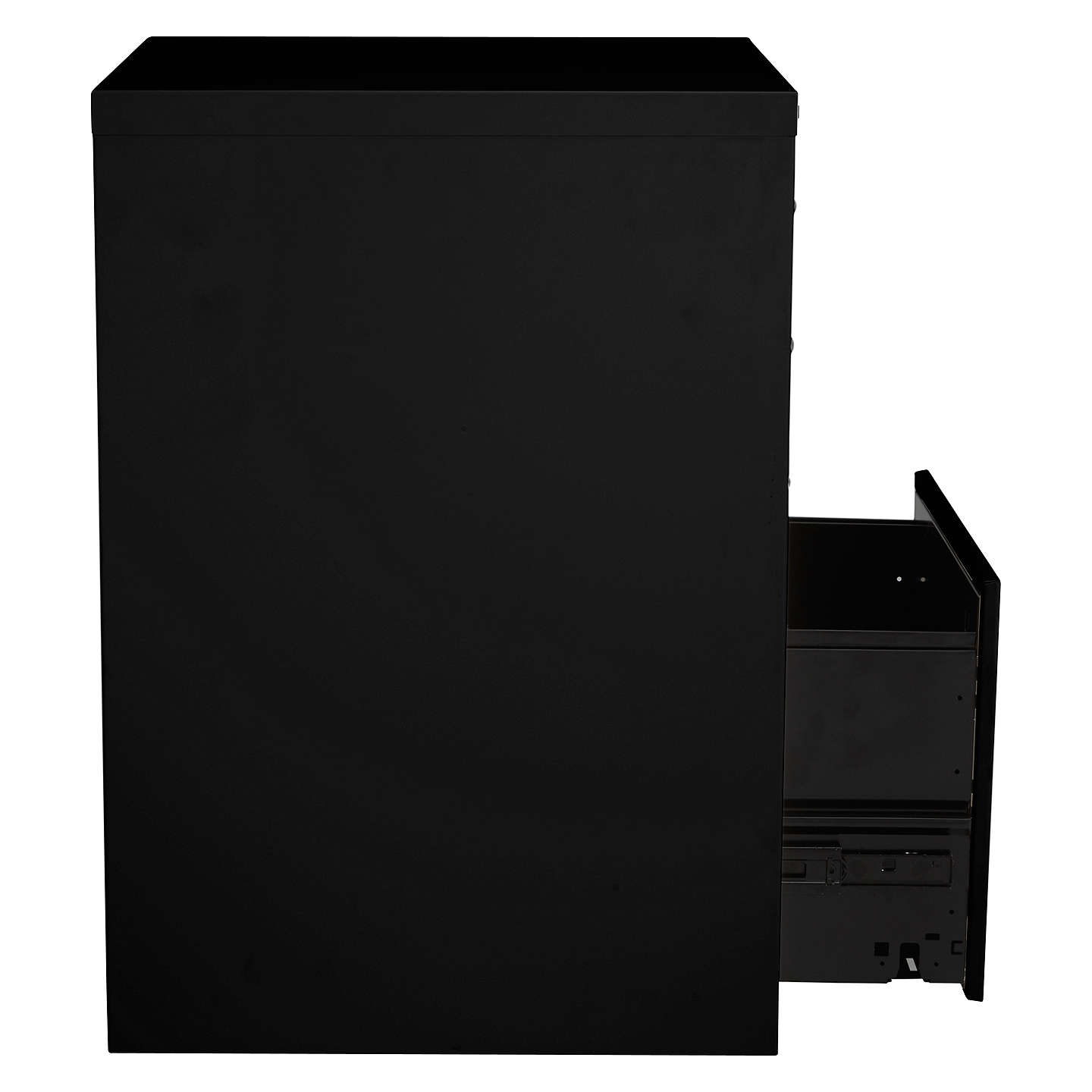 BuyBisley Combi Filing Cabinet, Black Online at johnlewis.com