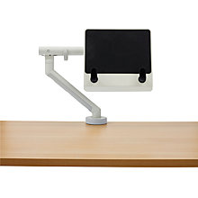 Buy Herman Miller Flo Monitor Arm & Flo Split Clamp with Laptop Mount Online at johnlewis.com
