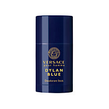 Buy Versace Pour Homme Dylan Blue Deodorant Stick, 75ml Online at johnlewis.com