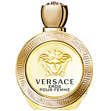 Buy Versace Eros Pour Femme Eau de Toilette, 100ml Online at johnlewis.com