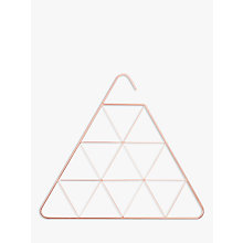 Buy Umbra Triangular Scarf Hanger, Copper Online at johnlewis.com