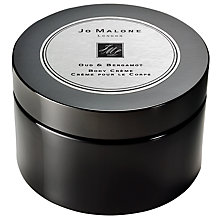 Buy Jo Malone London Oud & Bergamot Intense Body Crème, 175ml Online at johnlewis.com