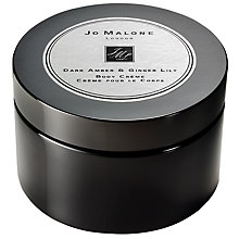 Buy Jo Malone London Dark Amber & Ginger Lily Intense Body Crème, 175ml Online at johnlewis.com