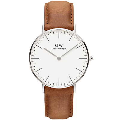 Daniel Wellington Women's Classic Durham Leather Strap Watch