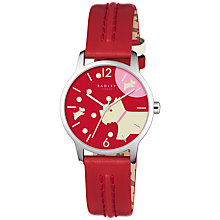 Buy Radley RY2407 Women's Over The Moon Leather Strap Watch, Blazer Online at johnlewis.com