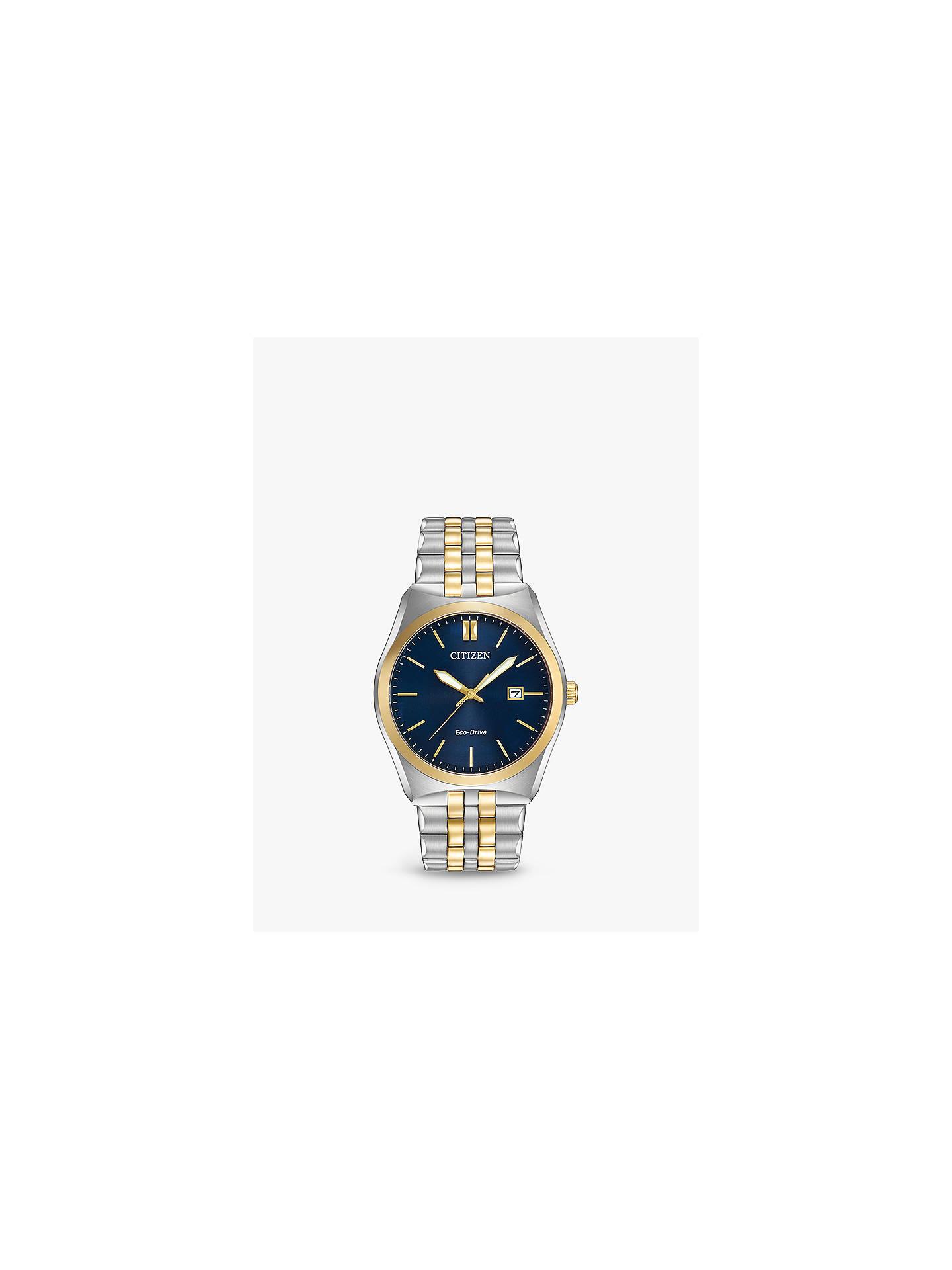 e0dcba65675 Citizen Men s Corso Date Bracelet Strap Watch at John Lewis   Partners