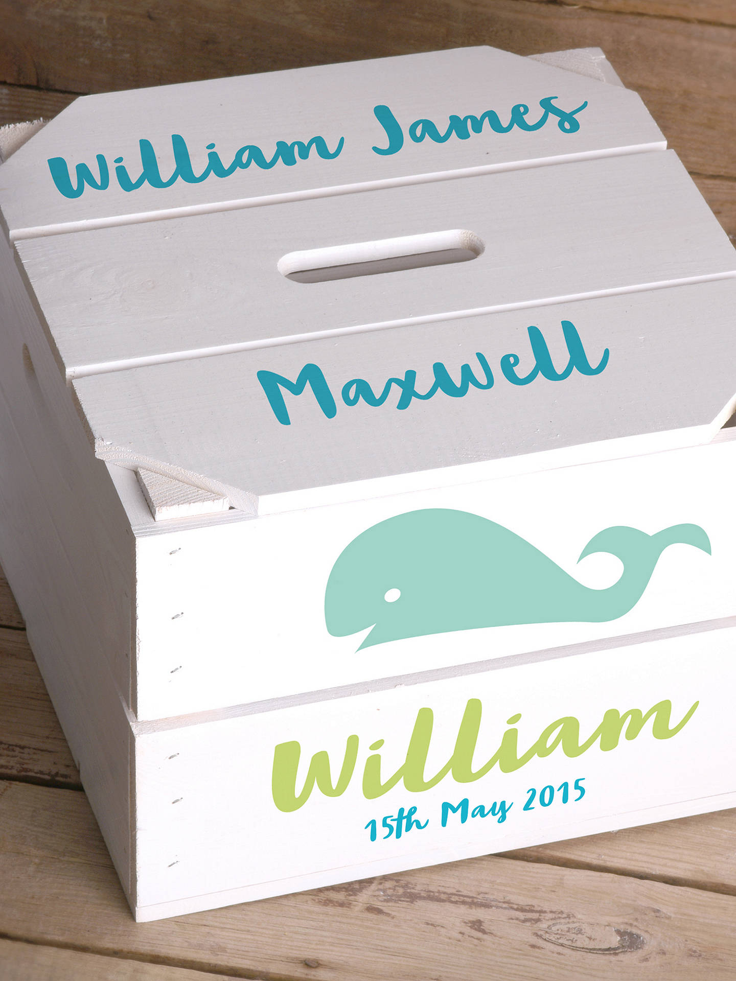 Buy Letterfest Personalised Children's Storage Crate Online at johnlewis.com