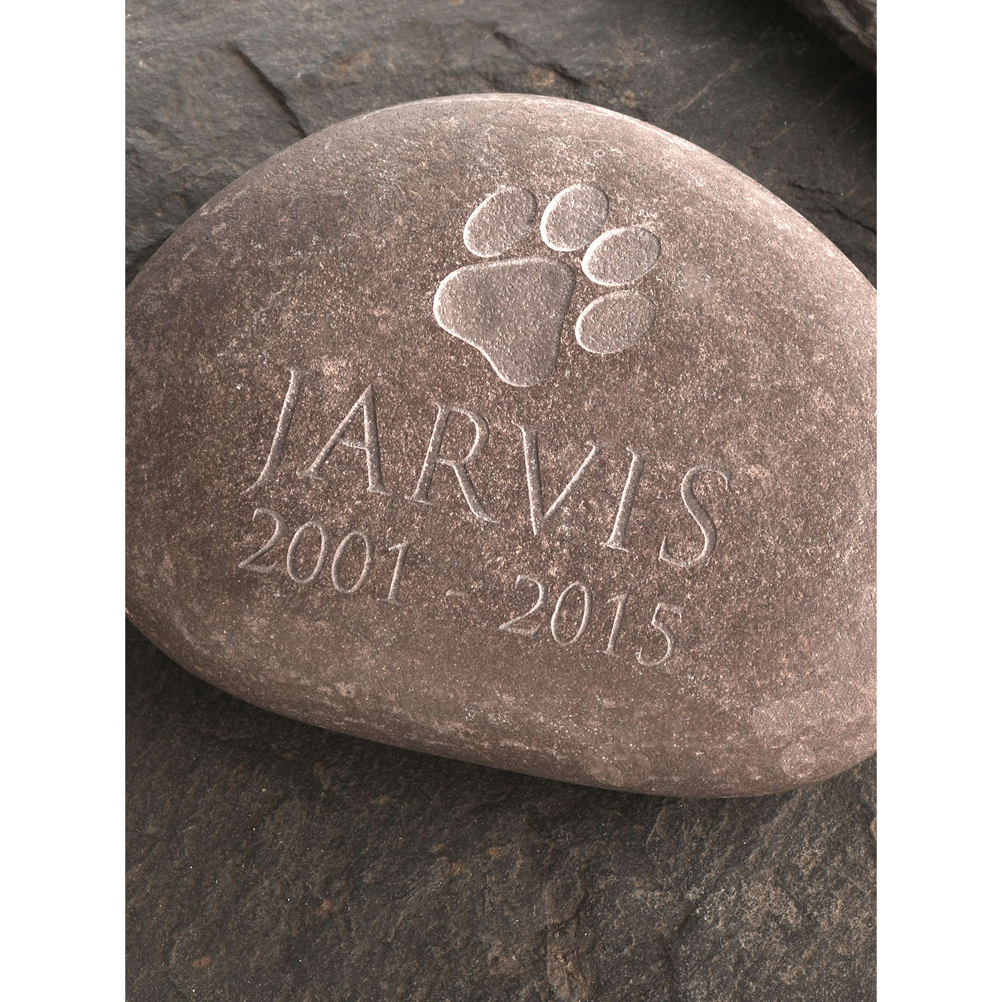 paddle cobble pacific pet garden stones stone memorial