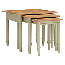 Buy John Lewis Stockbridge Nest of 3 Tables Online at johnlewis.com