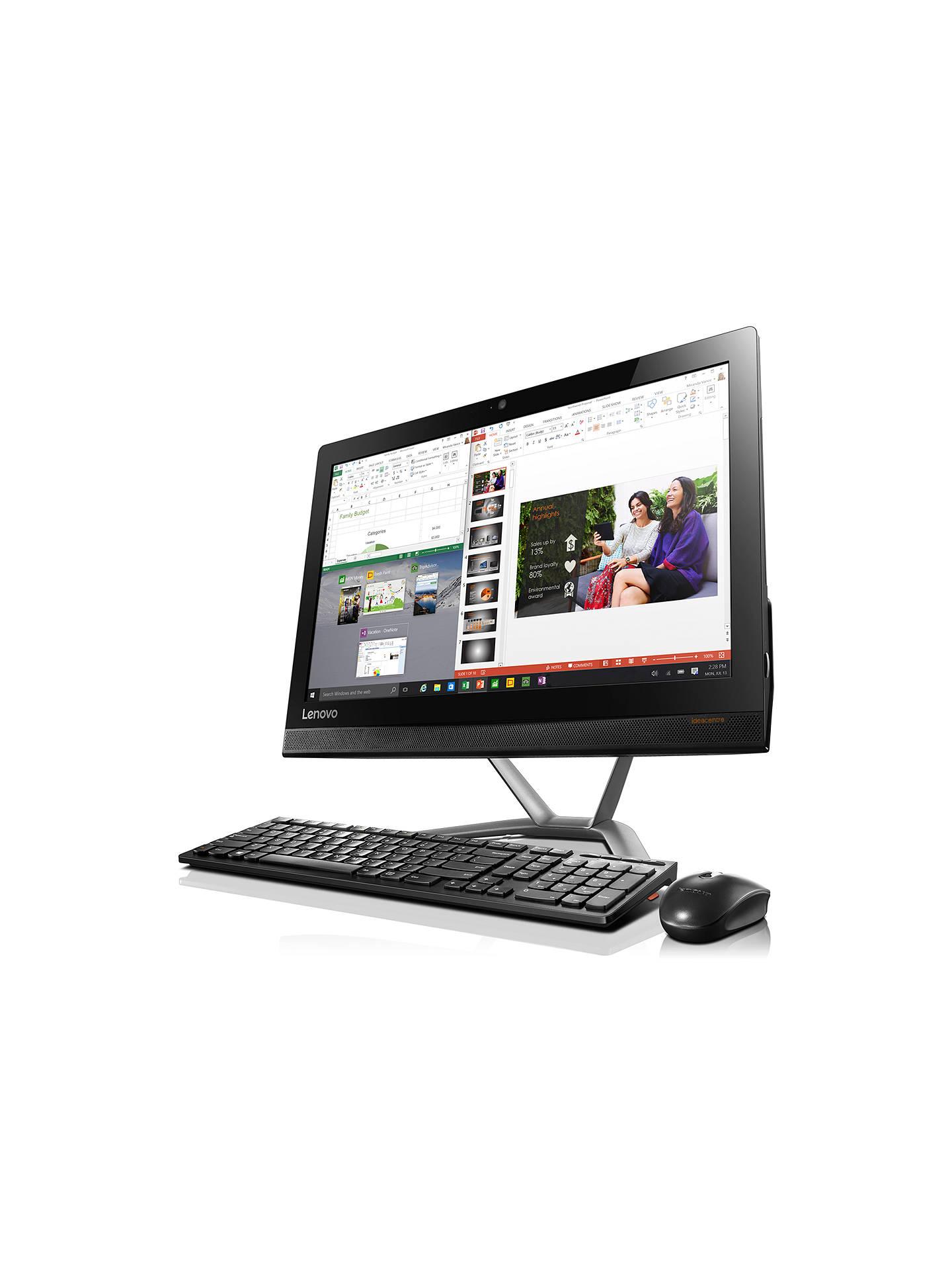 Lenovo Ideacentre 300 All-in-One PC, Intel Core i3, 8GB, 1TB
