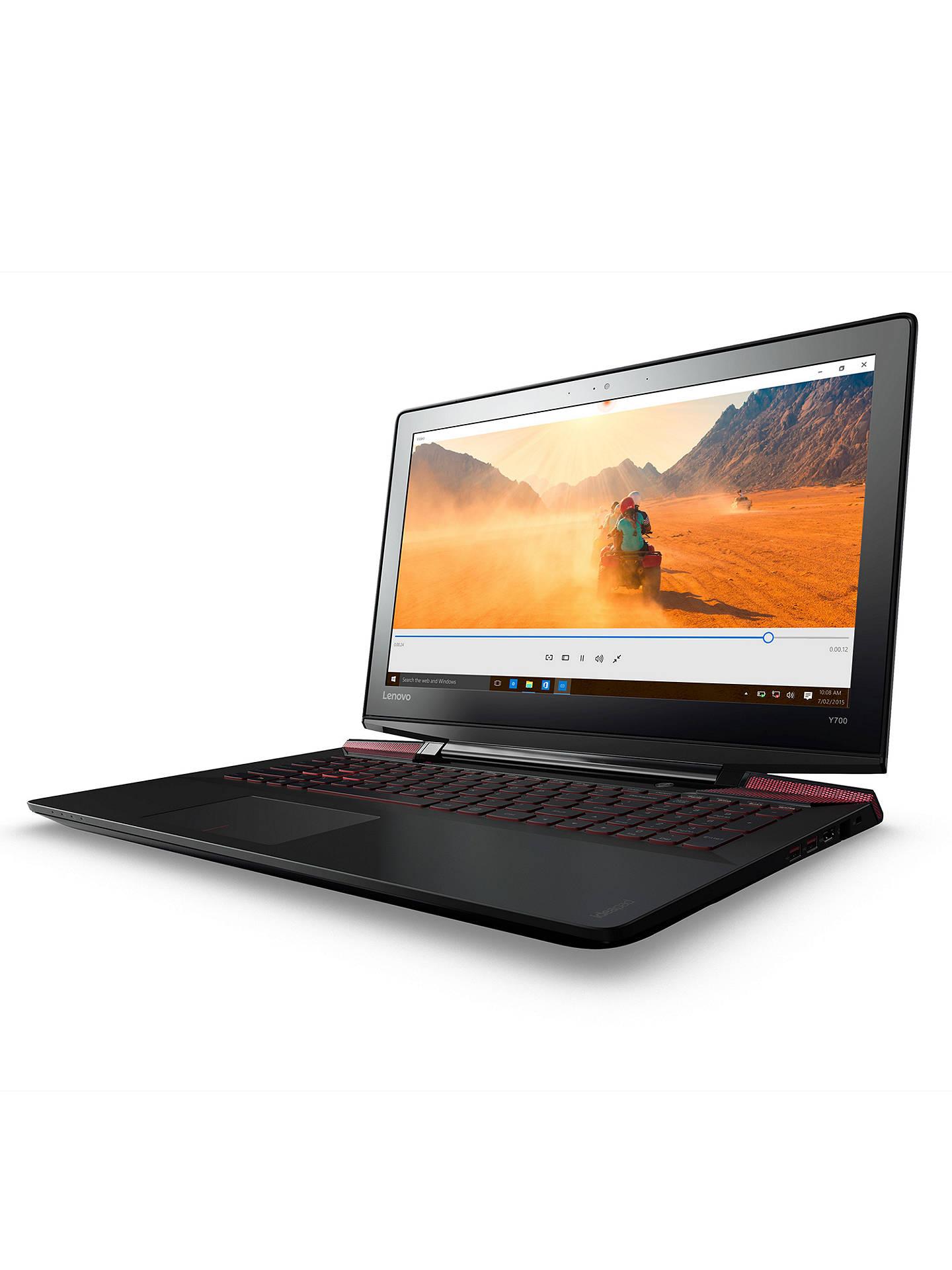 Lenovo Ideapad Y700 Gaming Laptop, Intel Core i7, 16GB RAM, 1TB HDD + 256GB  SSD, NVIDIA GTX 960, 15 6