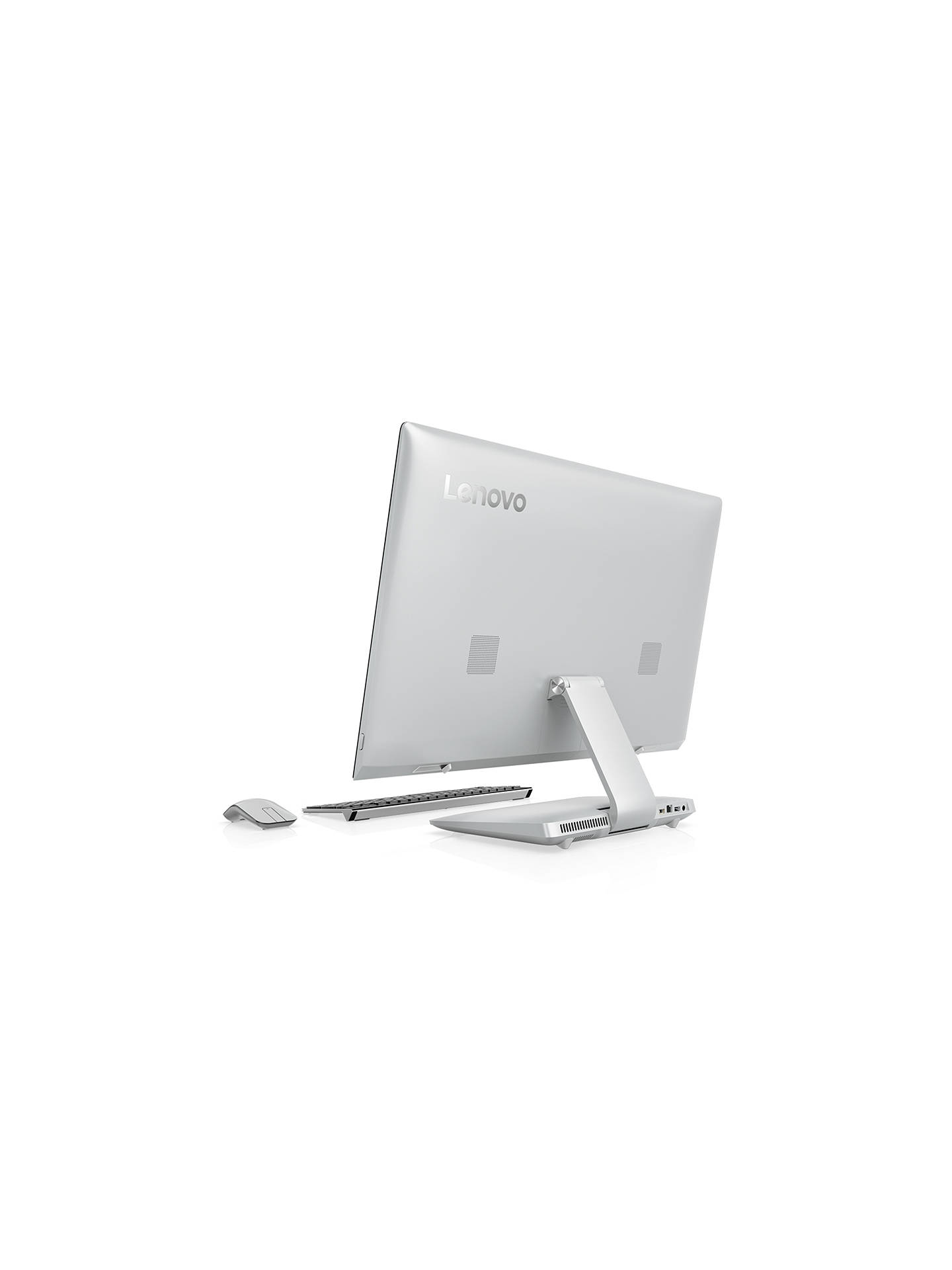 "BuyLenovo Ideacentre 910 All-in-One Desktop PC, Intel Core i5, 8GB RAM, 1TB HDD, NVIDIA GT 940A, 27"" Full HD, Silver Online at johnlewis.com"