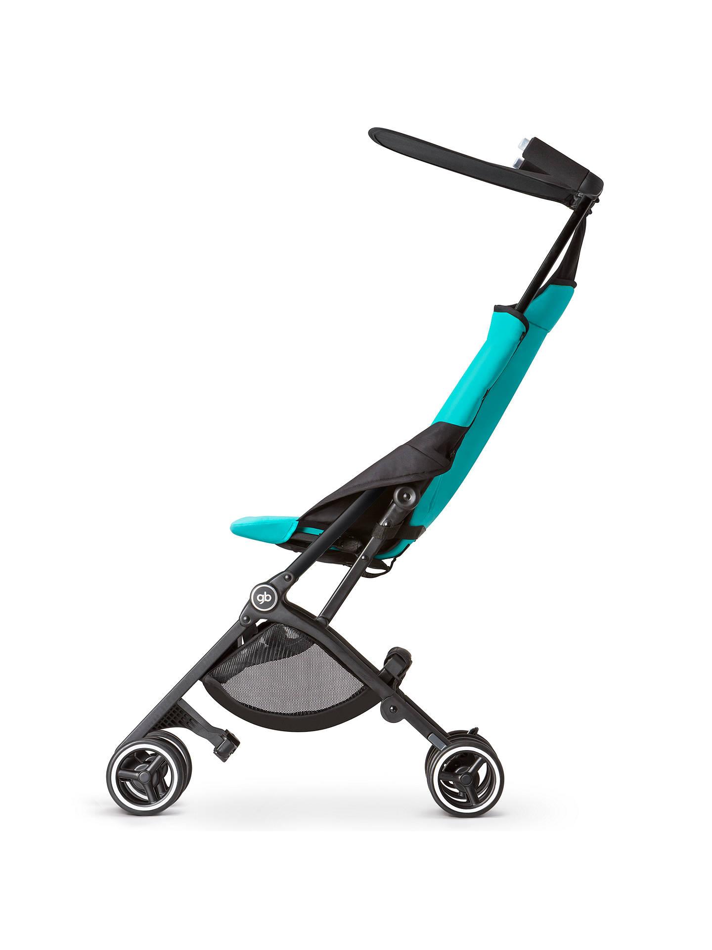 GB Pockit Stroller, Capri Blue at John Lewis & Partners