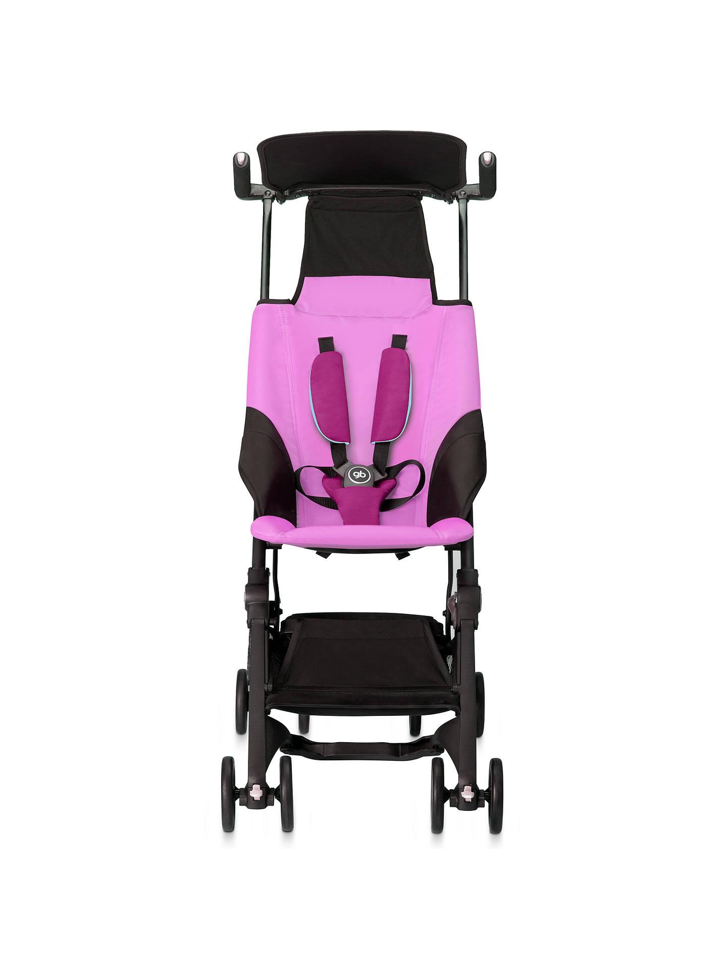 GB Pockit Stroller, Posh Pink at John Lewis & Partners
