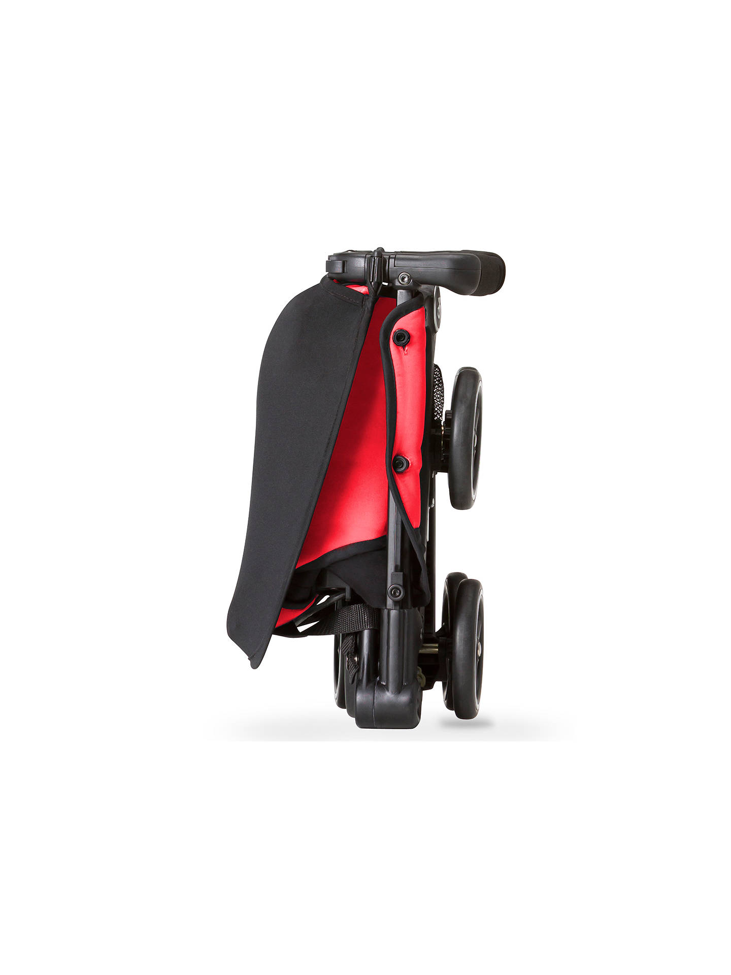 GB Pockit Stroller, Dragonfly Red at John Lewis & Partners