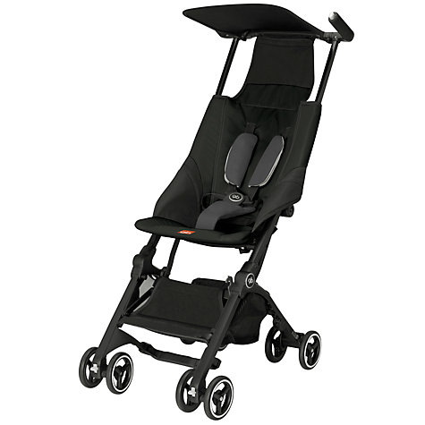 Buy GB Pockit Stroller, Black Online at johnlewis.com