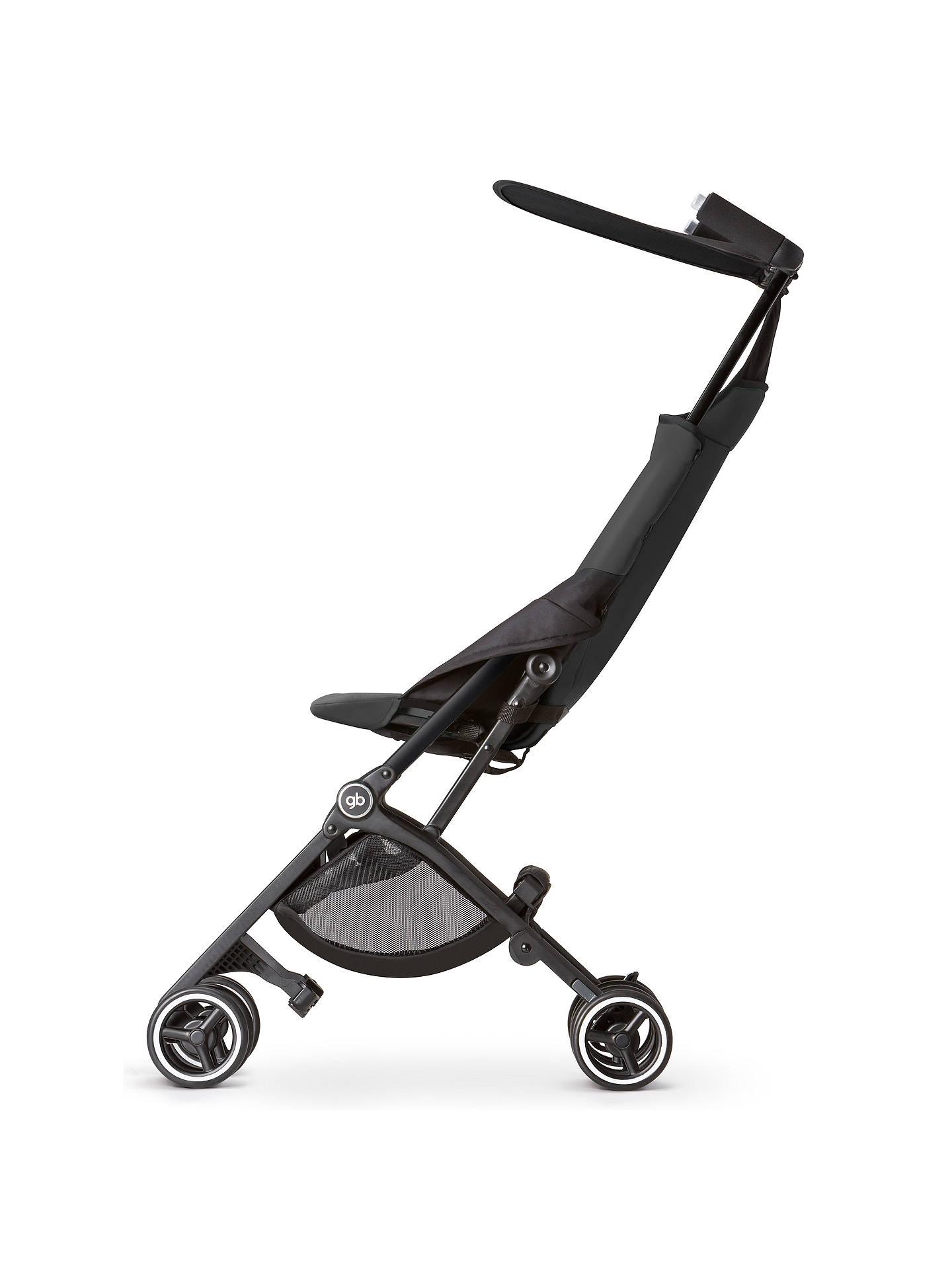 GB Pockit Stroller, Black at John Lewis & Partners