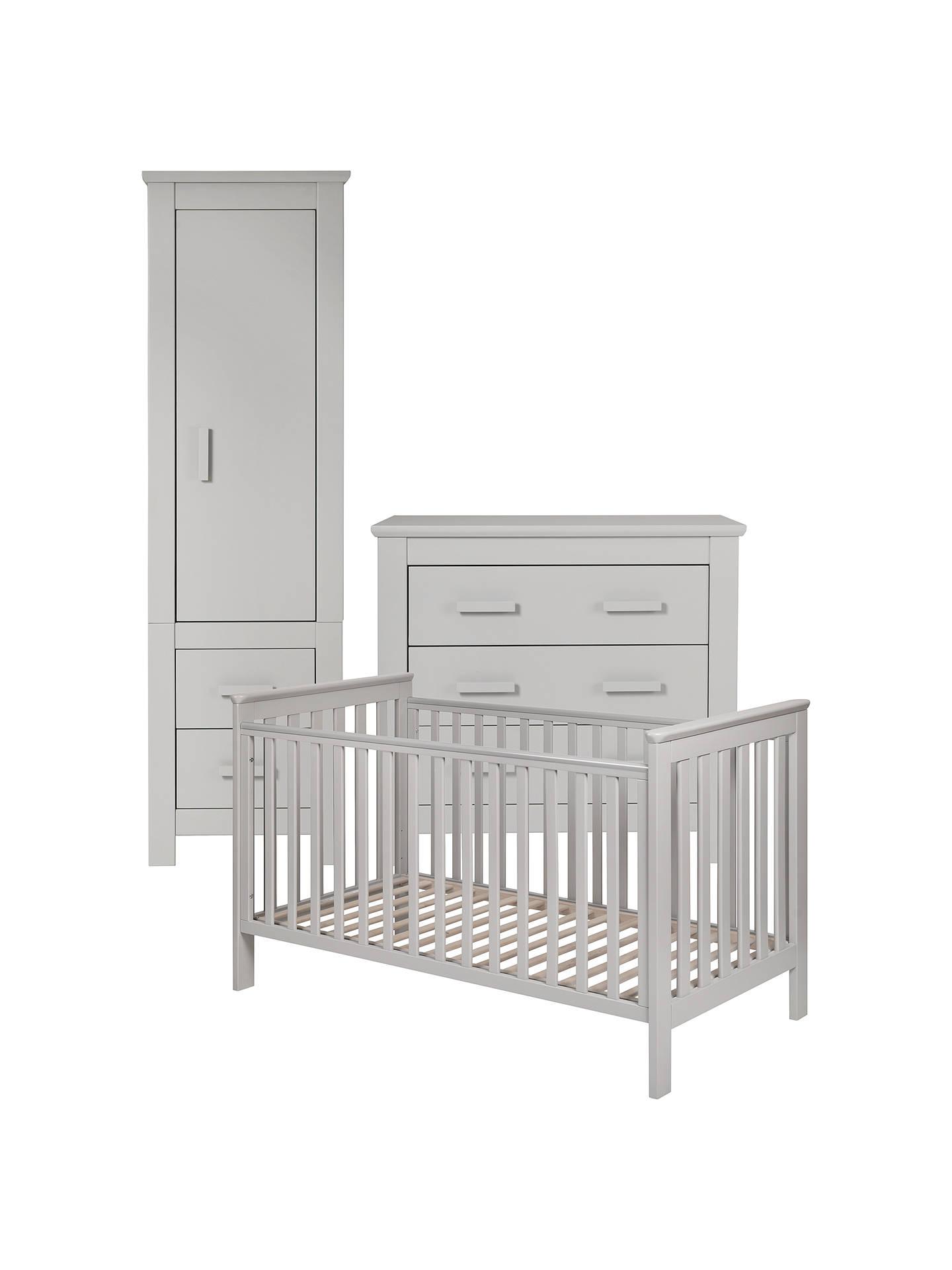 John Lewis Partners Lasko Nursery Furniture Set Grey Online At Johnlewis