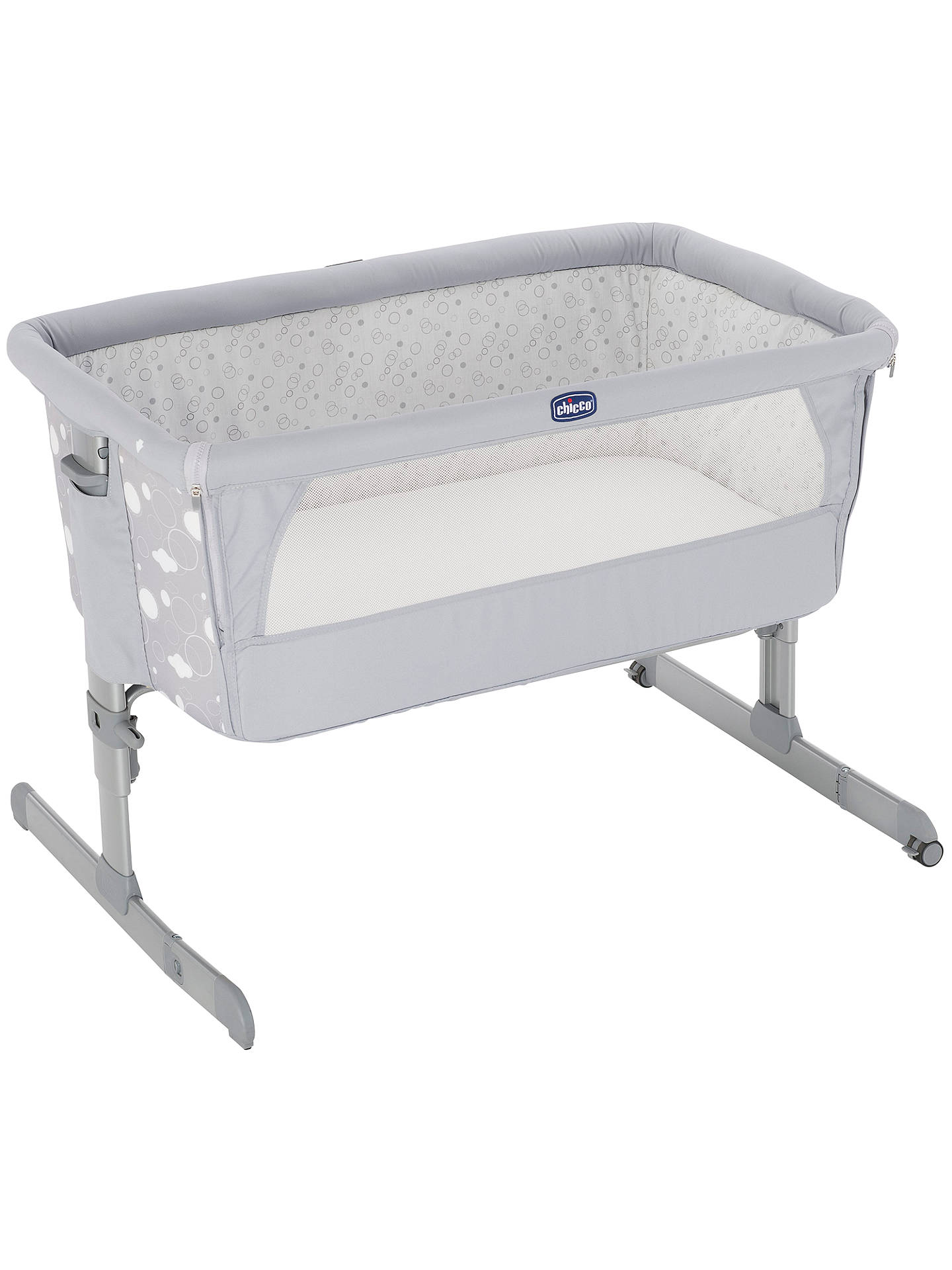Chicco Next To Me Crib Circle Grey John Lewis Buy 2 Get 20 Baby Nail Scissors Pink Massage Oil Buychicco Online At