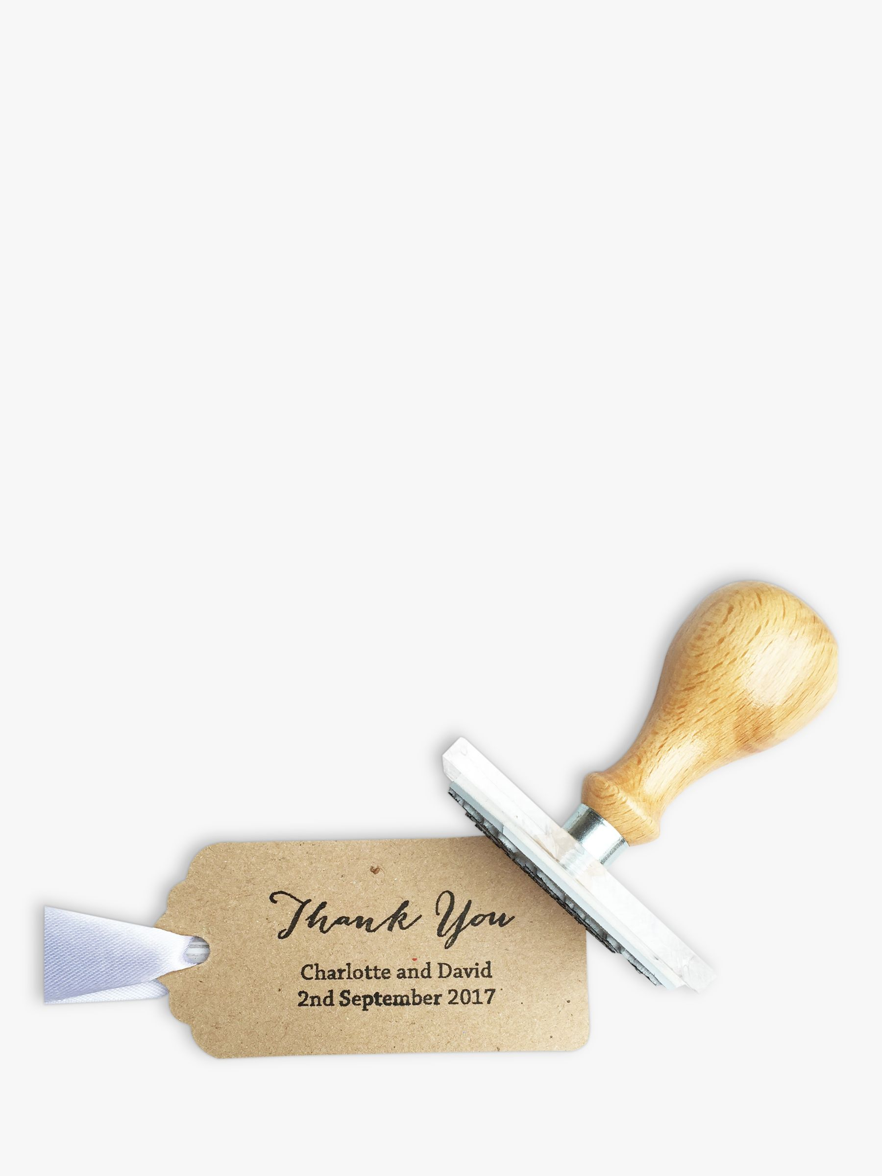 StompStamps StompStamps Thank You Calligraphy Stamp