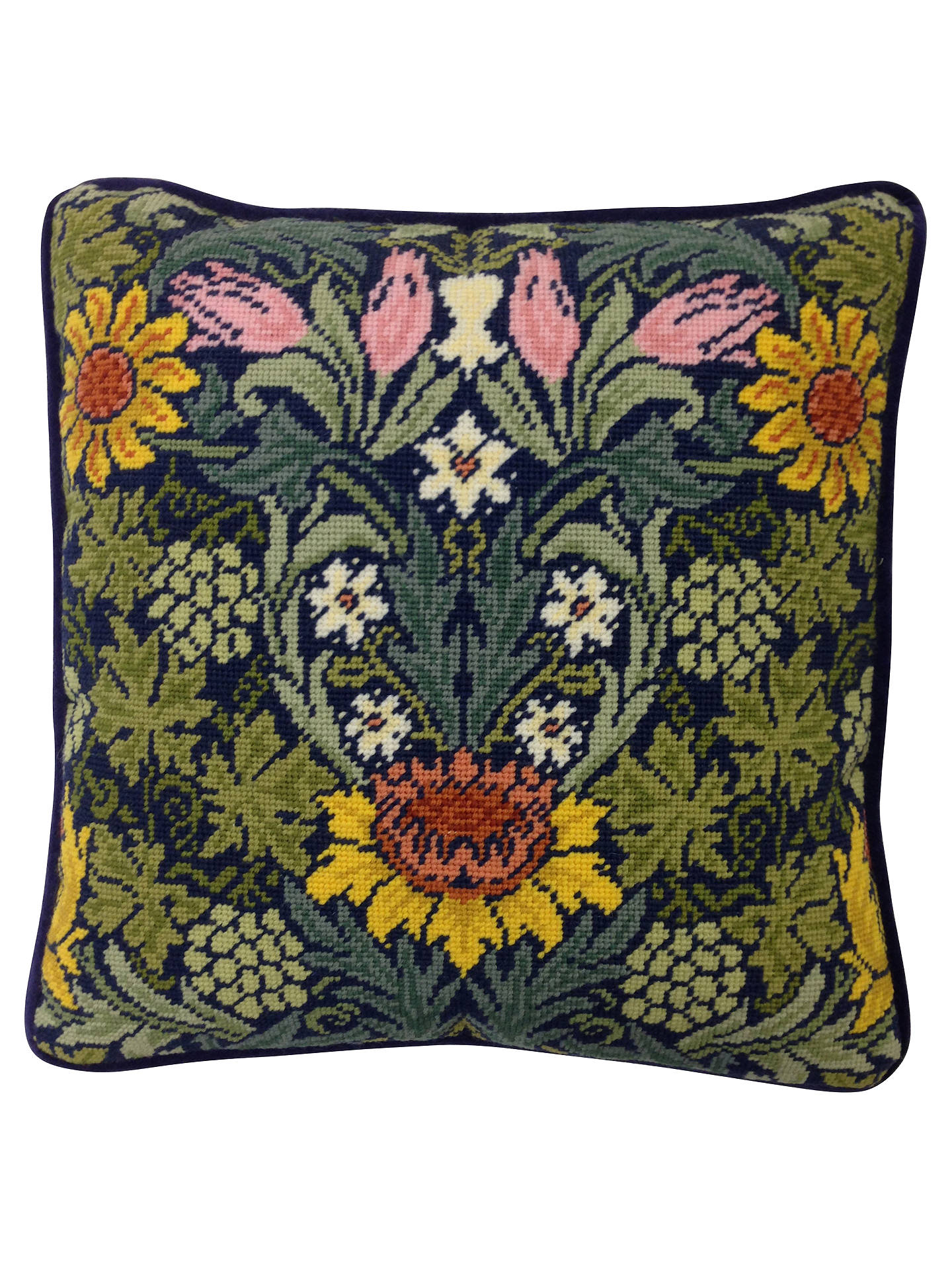 67327fa3d7c5 Buy Bothy Threads William Morris Sunflowers Printed Canvas Tapestry Kit  Online at johnlewis.com ...